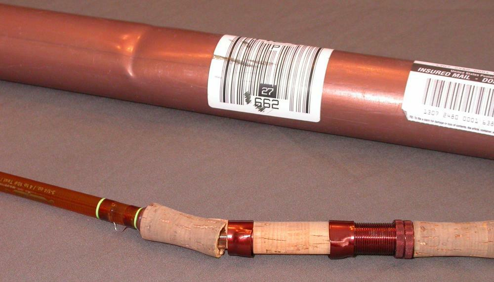 fiberglass fly rods / Shipping a fishing rod